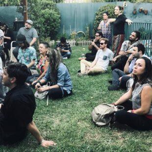Primera Asamblea de Fuerza Cultural en Ñuñoa