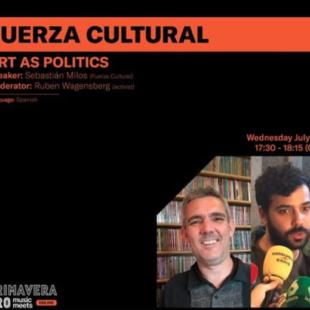 Entrevista Fuerza Cultural en Primevera Pro, Barcelona