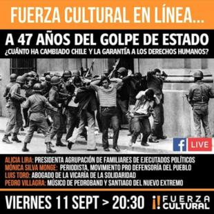 Conversatorio «A 47 años del Golpe de Estado»