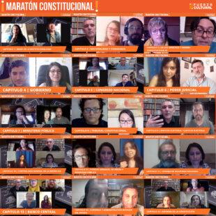 Balance de nuestra Maratón Constitucional