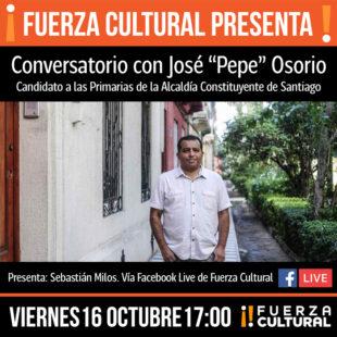 Conversatorio con José «Pepe» Osorio
