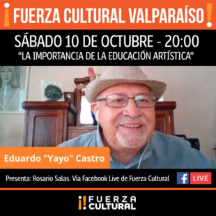 Fuerza Cultural Valparaíso estrena serie de Conversatorios