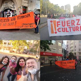 Círculo Feminista en Marcha contra la Violencia hacia la Mujer