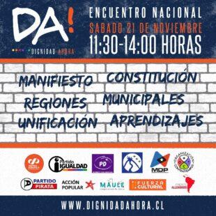 Primer Encuentro Nacional de Dignidad Ahora!