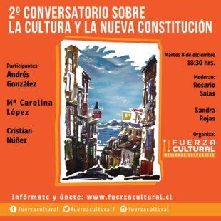 Fuerza Cultural Valparaíso Presenta: La Cultura y la Constitución