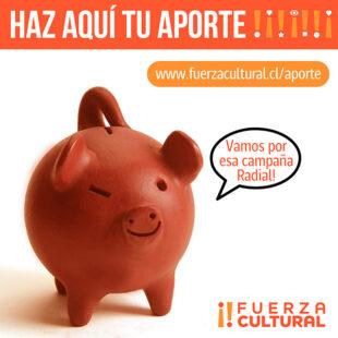 Aportes para Financiar Campaña en Radio Cooperativa
