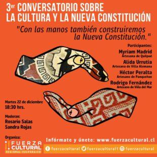 Fuerza Cultural Valparaíso Presenta: La Cultura y la Constitución 3