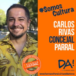 CARLOS RIVAS BARRIENTOS – Candidato a Concejal Parral