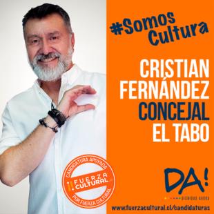 CRISTIÁN FERNÁNDEZ TERÁN – Candidato a Concejal El Tabo