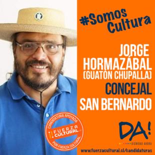 JORGE HORMAZÁBAL (GUATÓN CHUPALLA) – Candidato a Concejal San Bernardo