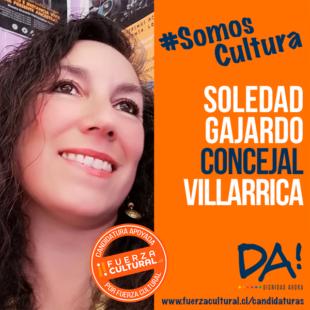 SOLEDAD GAJARDO RODRÍGUEZ – Candidata a Concejala Villarrica