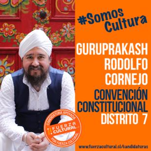 GURUPRAKASH RODOLFO CORNEJO – Convención Constitucional D7