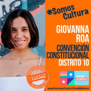 GIOVANNA ROA – Convención Constitucional D10
