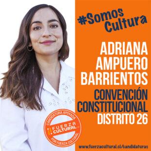 ADRIANA AMPUERO BARRIENTOS – Convención Constitucional D26