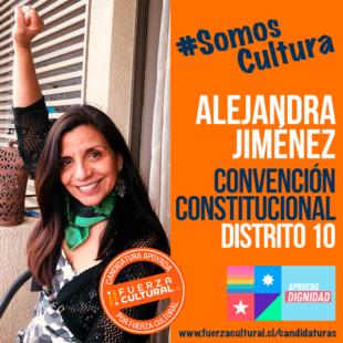 ALEJANDRA JIMÉNEZ – Convención Constitucional D10