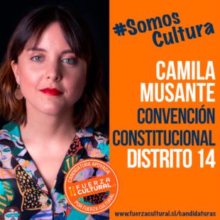 CAMILA MUSANTE – Convención Constitucional D14