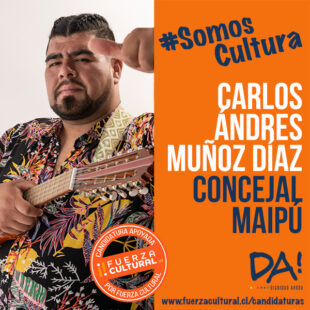 CARLOS MUÑOZ – Concejal Maipú