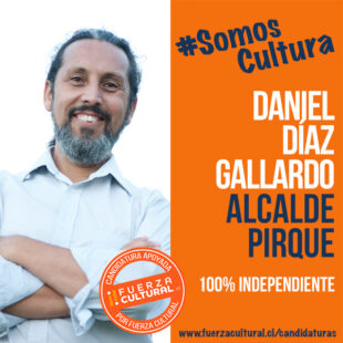 DANIEL DÍAZ GALLARDO – Alcalde de Pirque