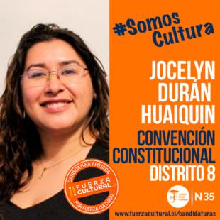 JOCELYN DURÁN HUAIQUIN – Convención Constitucional D8