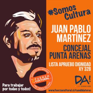 JUAN PABLO MARTÍNEZ – Concejal Punta Arenas