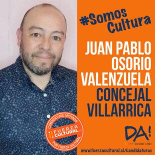 JUAN PABLO OSORIO – Concejal Villarrica