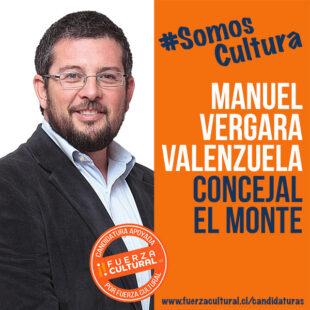 MANUEL VERGARA VALENZUELA – Concejal El Monte