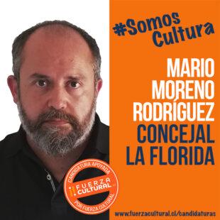 MARIO MORENO RODRIGUEZ – Concejal x La Florida