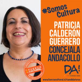 PATRICIA CALDERÓN – Concejalía Andacollo