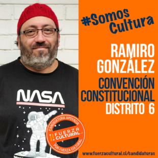 RAMIRO GONZÁLEZ – Convención Constitucional D6