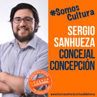 SERGIO SANHUEZA – Concejal x Concepción