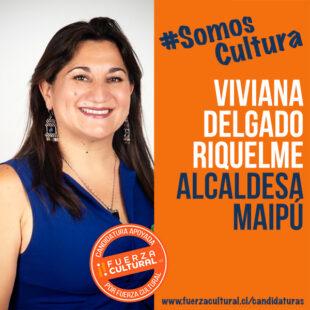 VIVIANA DELGADO – Alcaldesa de Maipú
