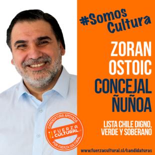 ZORAN OSTOIC – Concejal Ñuñoa