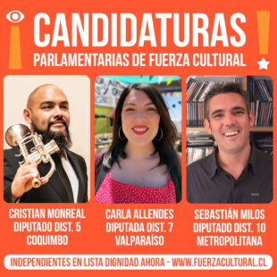 CANDIDATURAS PARLAMENTARIAS DE FUERZA CULTURAL